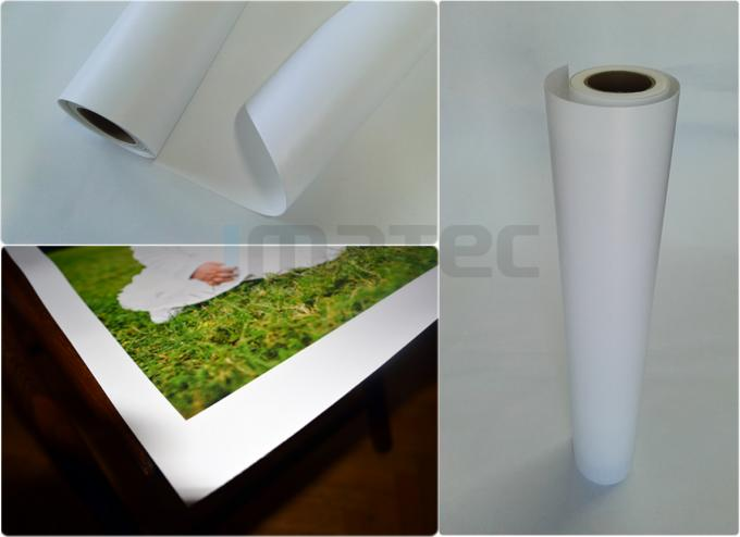 picture about Printable Canvas Paper identify Inkjet Eco Solvent Printing Canvas Roll , Polyester Shiny