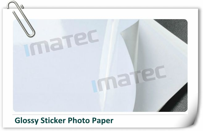 One Sided Cast Coating Self Adhesive Sticker Paper For Inkjet