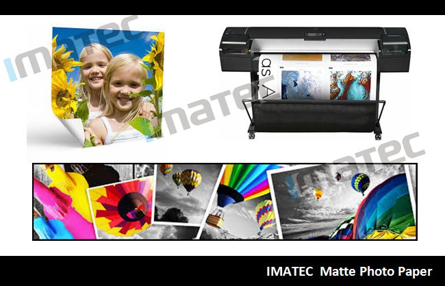 108gsm Matte Coated Paper Self Adhesive , Sticker Photo Paper Waterproof