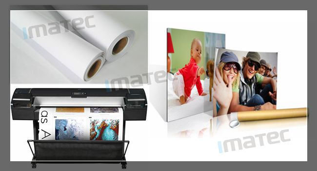 Single Side Printing Matte Finish Photo Paper / A4 Matte Photo Paper For Canon Epson Hp Plotters