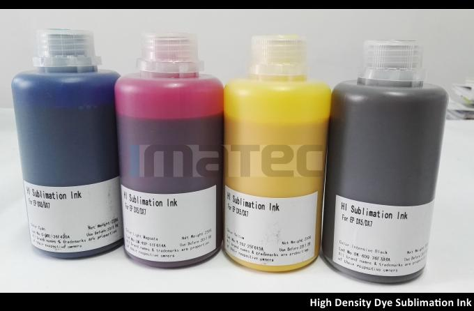 High Density Heat Transfer Dye Sublimation Ink 250ml / 500ml / 1000ml bottles