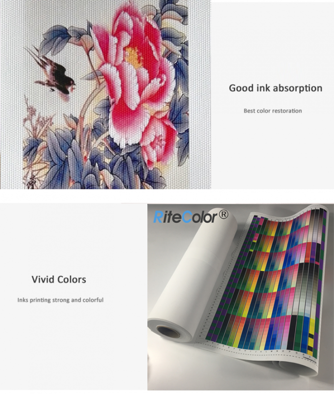 Inkjet Fine Art 100% Polyester Canvas Rolls 260g With Pigment Inks