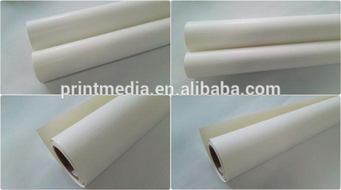 Inkjet Glossy polyester cotton canvas for latex digital printing