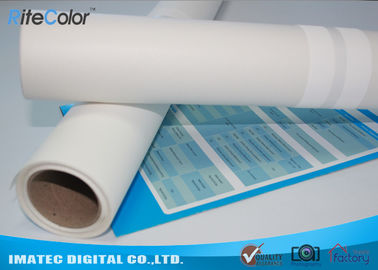 "380gsm 60"" × 30m Pure Inkjet Cotton Canvas Rolls For Printing Matte Finish"