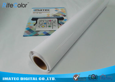 "China Resin Coated Photo Paper Silicon Coating Glossy Photographic Paper 60"" Width factory"