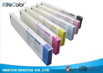 China Odorless Wide Format Inks , 440ML Eco Sol Max Ink Cartridges With Chips supplier