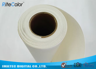 18M Length Blank Inkjet Cotton Canvas , Pigment Digital Printing Cotton Fabric