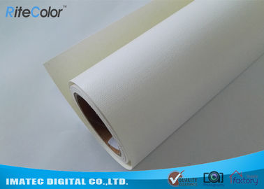 Glossy Digital Printing Inkjet Canvas Roll 360G 30m Length For Eco Solvent Printer