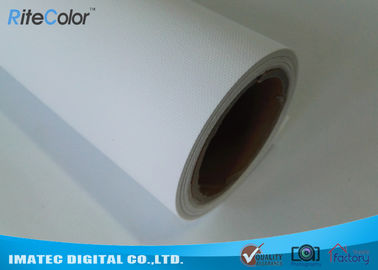 "China Eco Solvent Polyester Matte Inkjet Printing Canvas Art Media 24"" - 60"" Rolls factory"