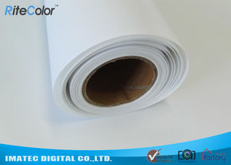 China HP Inkjet Printers Digital Print Latex Media 100% Polyester Canvas Fabric supplier