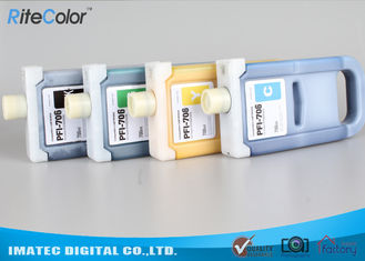 China Pigment Based Wide Format Inks , PFi-706 Plug And Print Inkjet Ink Cartridge supplier