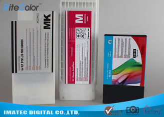 China Industry Printing 350Ml Wide Format Inks , Epson 7900 / 9900 Printer Compatible Ink Cartridges supplier
