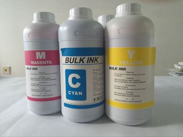 China 1L Odorless Mimaki Eco Sol Max 2 Ink Scratch Resistance FOR DX-7 Eco Solvent Printing factory