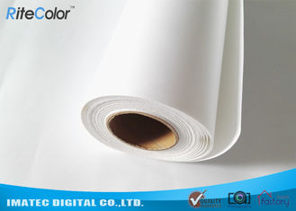 Fine Art Inkjet Canvas Printing / Plotters Printing 260gsm Matte Polyester Fabric Roll