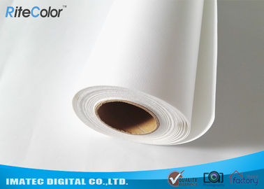 China Fine Art Inkjet Canvas Printing / Plotters Printing 260gsm Matte Polyester Fabric Roll factory