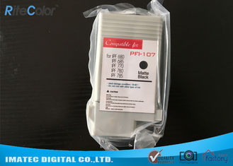 Compatible PFI - 107 Ink Cartridges Wide Format Inks For Canon IPF780 IPF685 Printers