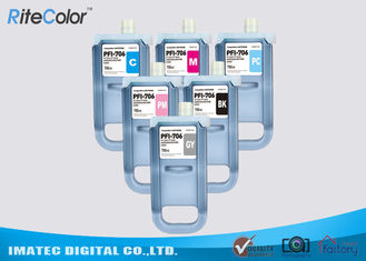 China Pigment Compatible 700 ML Ink Cartridge For Canon PFI - 706 , iPF8400 / 9400 Ink factory