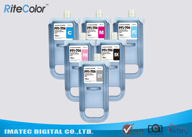 Pigment Compatible 700 ML Ink Cartridge For Canon PFI - 706 , iPF8400 / 9400 Ink