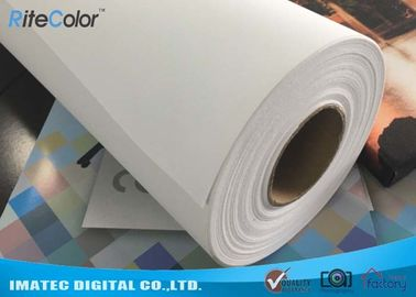 Wide Format Digital Inkjet Cotton Canvas 320gsm / Printable Canvas Roll