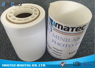 Dry Luster Photo Paper For Epson , 240gsm Semi Glossy Luster RC Inkjet Photo Paper Roll