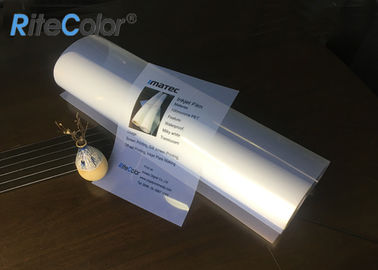 China Waterproof a3 a4 inkjet transparency film for screen pigment inks printing supplier