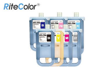 China Canon IPF Printer Large Format Ink 700ML Compatible / Refilled PFI 706 Inkjet Ink Cartridge factory