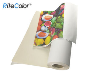 24 Inch 100ft Waterproof Matt Inkjet Cotton Canvas For Epson Printer