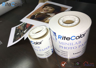 "240Gsm Premium Digital RC Inkjet Minilab Photo Paper Roll Glossy & Luster in 4""/6""/8""*65M"