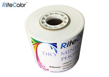 Waterproof Quality Semi Gloss Dry Photo Paper For Epson SureLab Printer