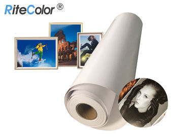 190gsm Glossy Luster Resin Coated Photo Paper 2 Inch / 3 Inch Core For Canon IPF8000
