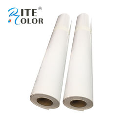 100 Feet Per Roll Eco Solvent Media Photo Gloss Paper White 230gsm Waterproof