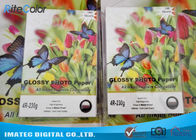 Rc Glossy Photo Luster Paper A3 A4 Inkjet Printing For Pigment / Dye Ink