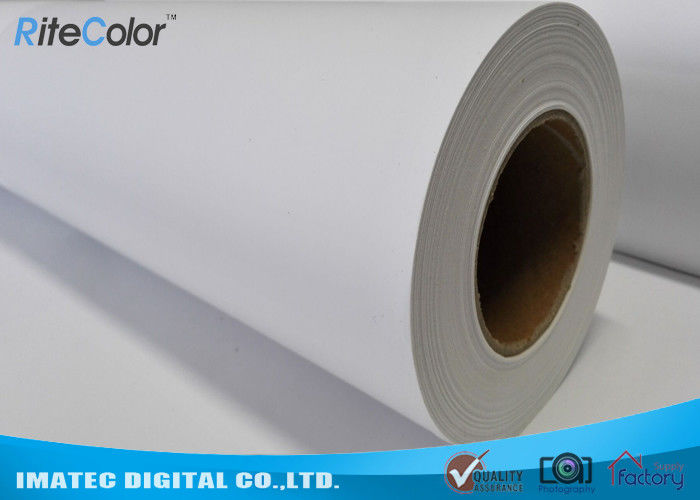 Exhibition 280Gsm Polyester Printing Canvas Rolls Matte Inkjet Fabric Paper supplier