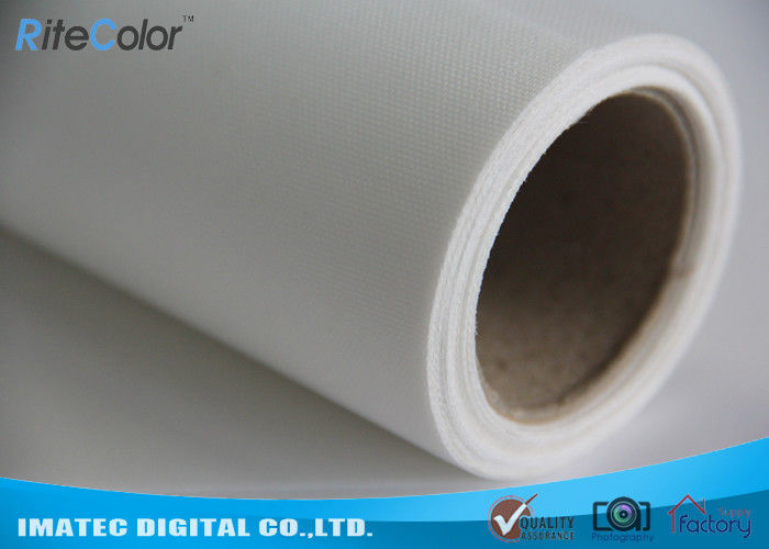 Waterproof Stretchable Polyester Canvas Rolls 260Gsm For Poster / Display