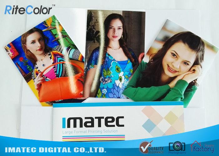 30M Eco Solvent Media RC Glossy Photo Paper For Roland Mimaki Printer