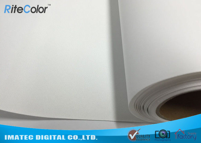 260gsm matte inkjet printable canvas latex polyester fabric roll