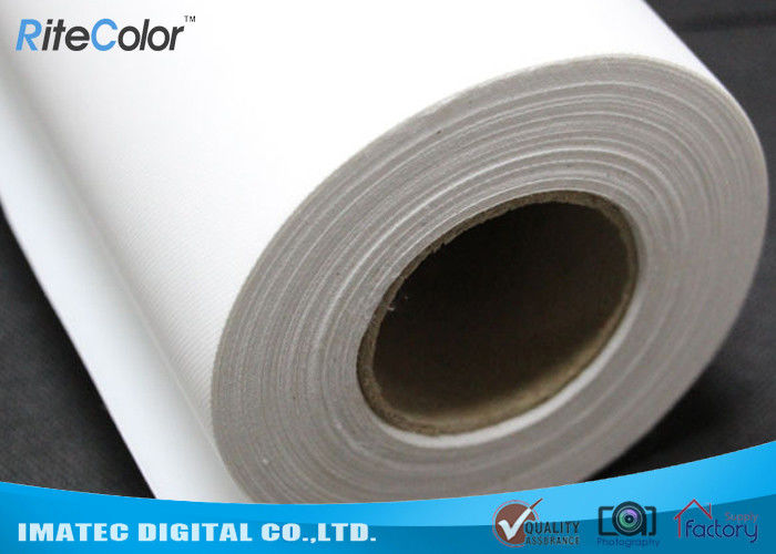 Wide Format Inkjet Printable Canvas , 260gsm Matte Polyester