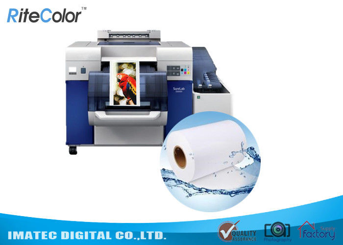 6 Inch 240gsm Inkjet Glossy Luster Dry Lab Minilab Photo Paper For Fuji Printers