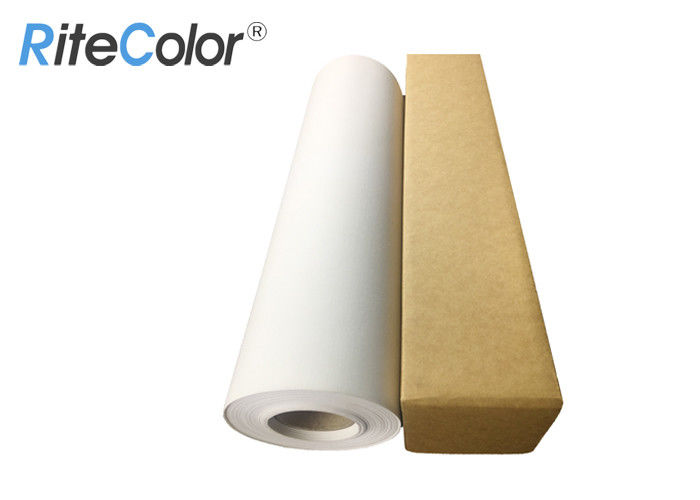 Waterproof Inkjet polyester Canvas Roll / Matte Canvas pinting roll For Art Printing