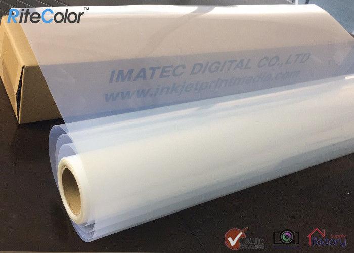 "1 roll 24/"" x 100/' waterproof transparency inkjet film for screen printing"