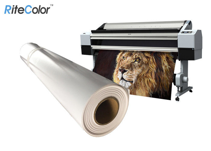 Waterproof 8mil Matte Polypropylene Film Roll For Banner Printing