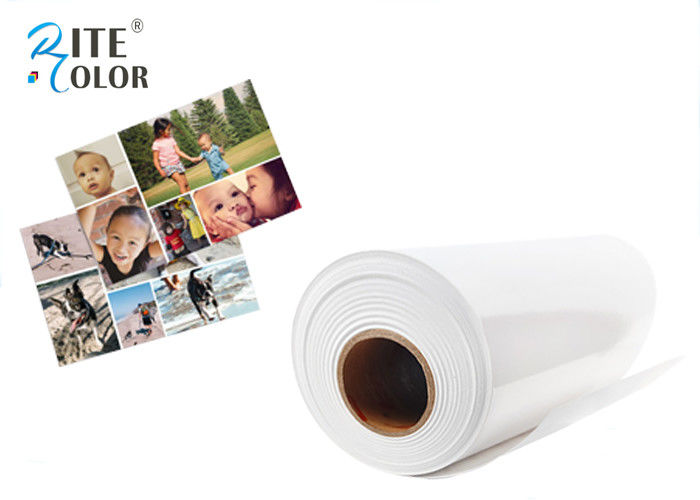 Bright White Resin Coated Photo Paper Satin Inkjet For Photographic Printing