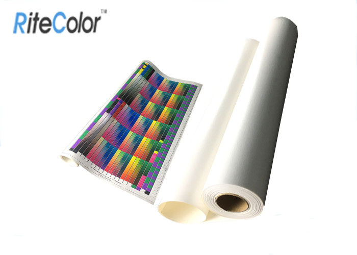 Bright White Glossy Latex Media Digital Printing Polyester Canvas Fabric Roll