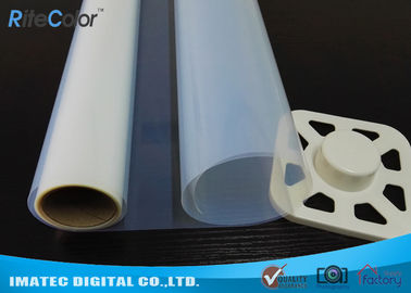 China ImageSetting  PET Inkjet Screen Printing Film Translucent 100 Micron 30m factory
