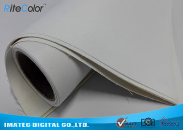 China White Glossy Inkjet Cotton Canvas 400gsm Resin Coated for Pigment Inks factory