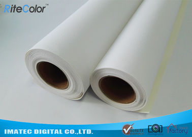 China Aqueous Cotton - Poly Blend Canvas Textured Art Canvas For Wide Format Printers factory