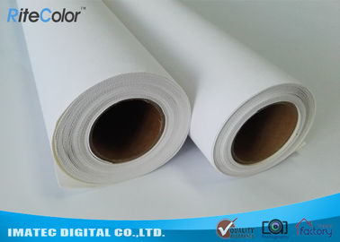China Poly - Cotton Blend Inkjet Cotton Canvas , Waterproof Canvas Printer Paper factory