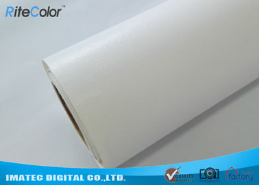 China 360Gsm / Sqm Glossy Art Canvas Rolls Poly - Cotton For Eco Solvent Printer factory