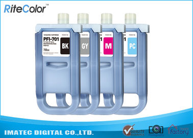 China Large Format Inks 700Ml Compatible Ink Cartridges For Canon iPF8000 / 8000S distributor