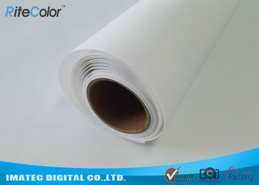 China Large Format Matte Polyester Canvas Rolls For Art Inkjet Digital Printing distributor